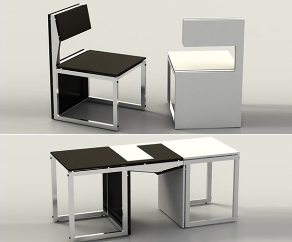 Sensei-transforming-chairs-that-become-a-table