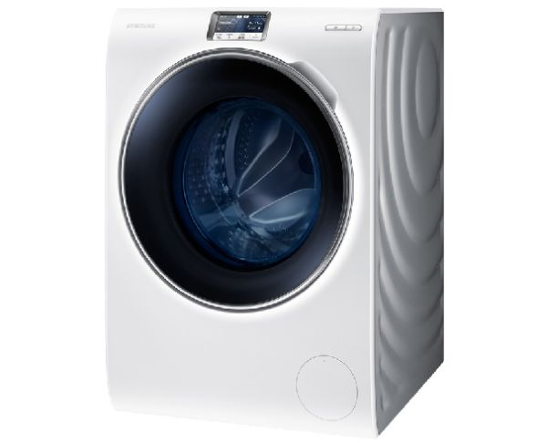 Smartphone-controlled Samsung WW9000 washing machine