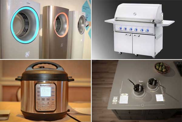 Smartphone controlled home appliances
