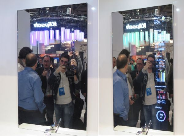 toshiba smart mirror