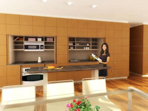 Stealth Kitchen by reform funiture