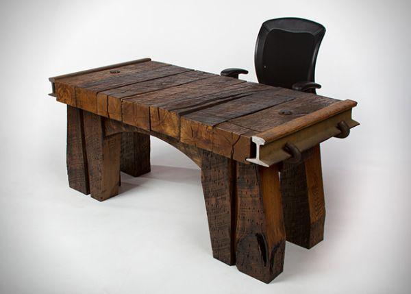 Office Desk By Rail Yard Studios