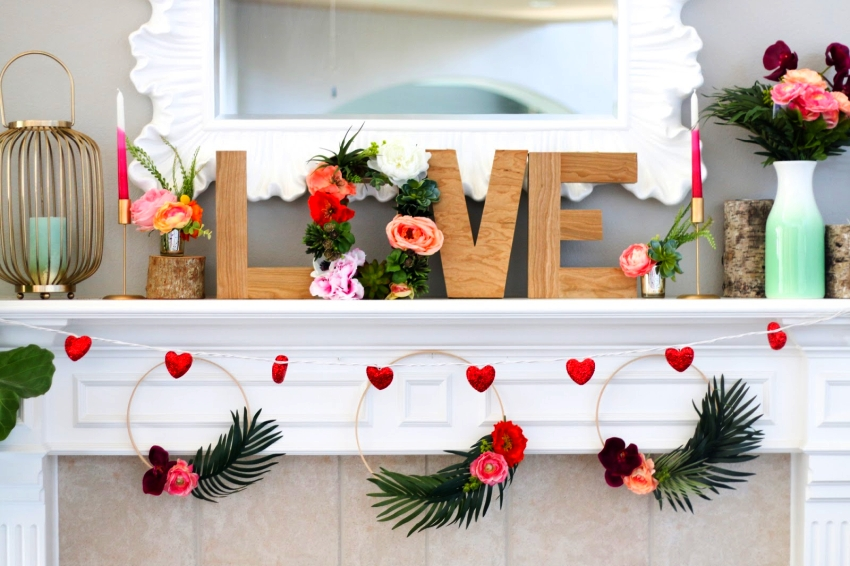 How To Give Your Home Love Themed Makeover For Valentine S Day