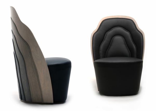 Wood Layer Armchair by Farg and Blanche