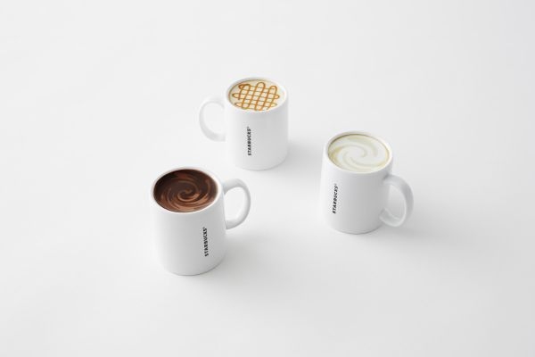 Nendo designs Starbucks mugs