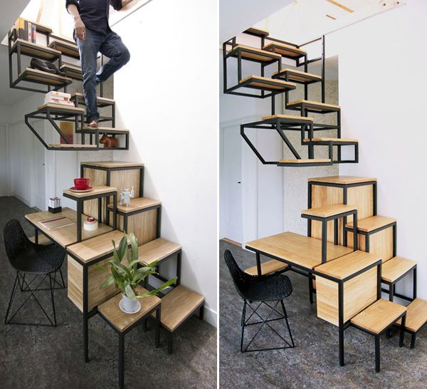 Suspended-staircase
