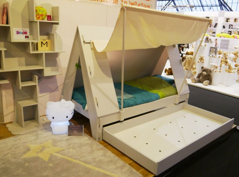 Tent Bed by Mathy By Bols - Kids Furniture design