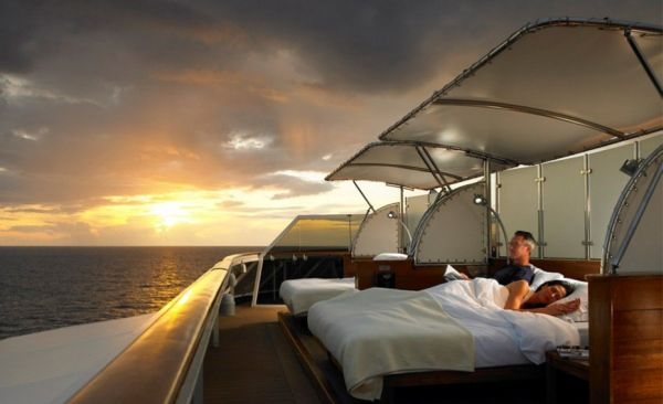 Cruise ship you can live on