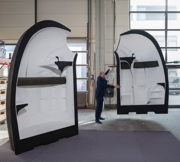 3D printed house by UCLA and HUD
