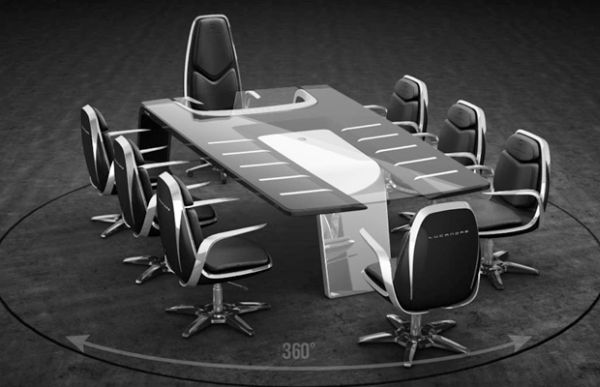 9Eleven furniture collection conference table
