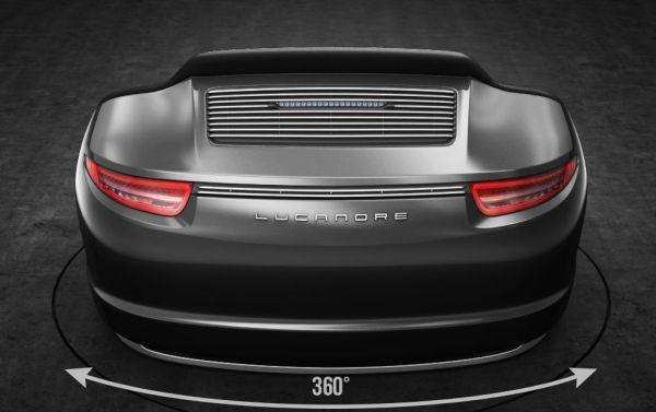 9Eleven sofa made from genuine Porsche 911 parts-2