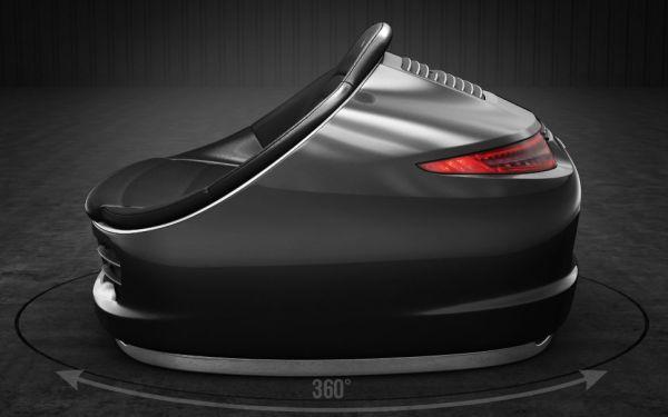 9Eleven sofa made from genuine Porsche 911 parts-3