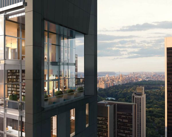 Duplex penthouse on top of Baccarat Hotel & Residences NYC-1