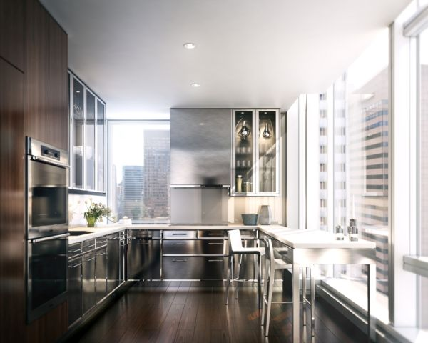 Duplex penthouse on top of Baccarat Hotel & Residences NYC-2
