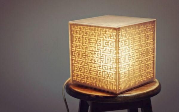 Golden Cube by Green Spirit Creations