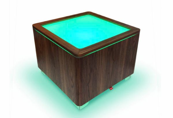 Glowing center table