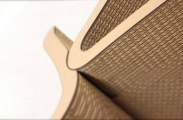 UNA cardboard chair