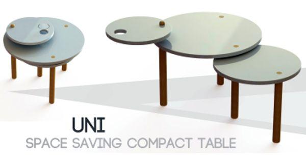 UNI Space Saving Compact Table by Auradee Sae-Lin