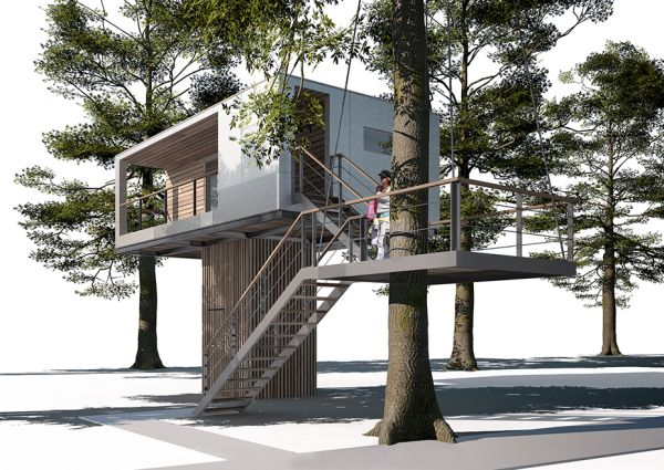 Urban Treehouse for rent in Germany-1