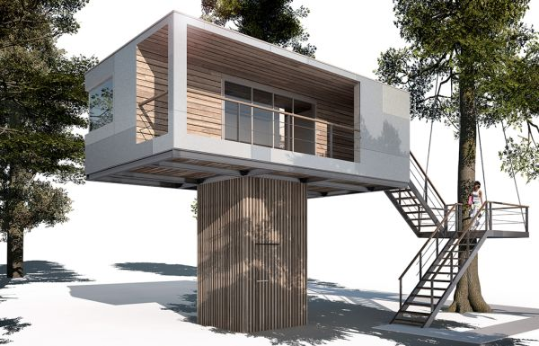 Urban Treehouse for rent in Germany