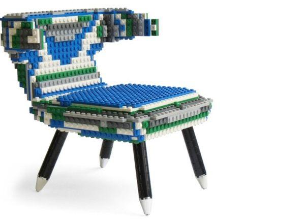 50's Inspiration armchair Lego replica