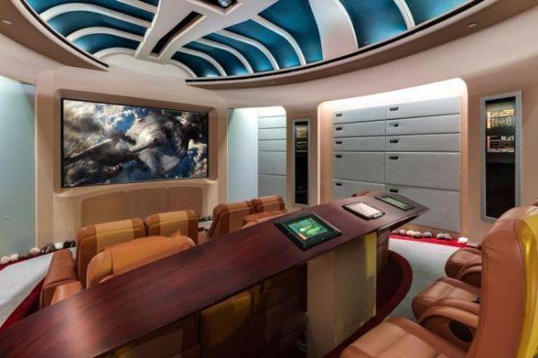 Marc Bell Star Trek-themed mansion