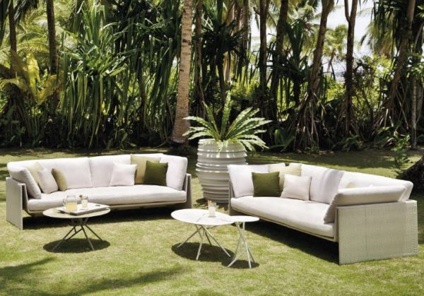 Dedon Slim Line Sofa
