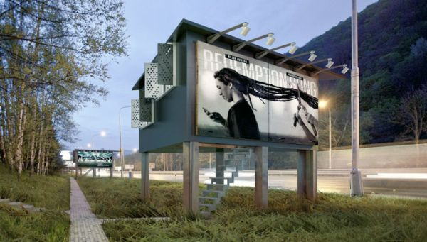 DesignDevelop Billboard Houses