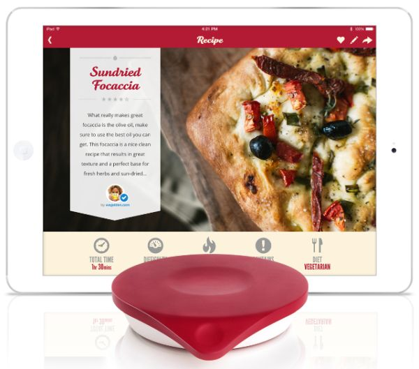 Drop iPad-connected Kitchen Scale