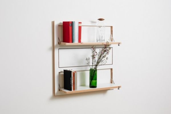 Flapps Shelving System by Ambivalenz