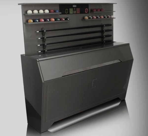 Mobile Madiatecno design billiards table accessory