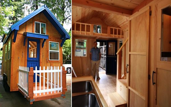 Molecule tiny house