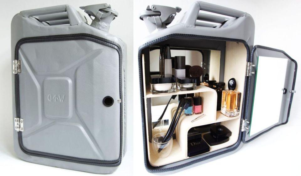 Danish Fuel Jerry -Can Bathroom Cabinet