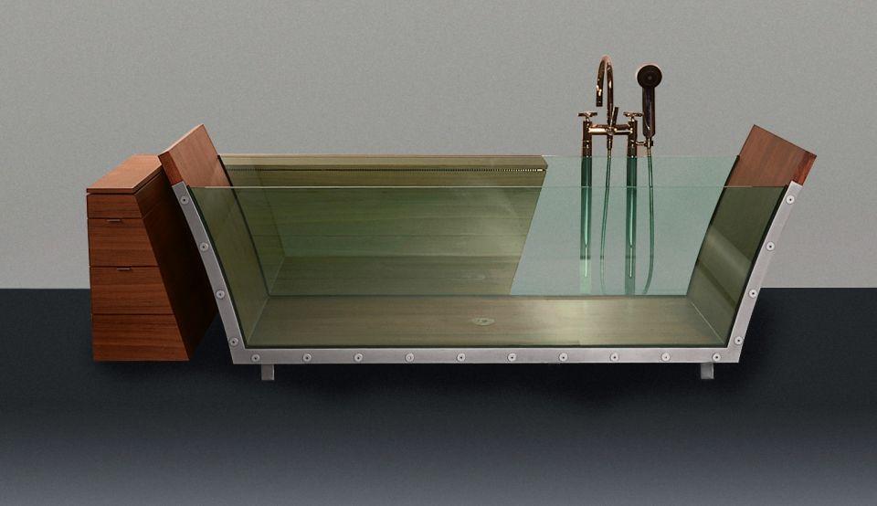 Freestanding Bathtub by Eva Mechler