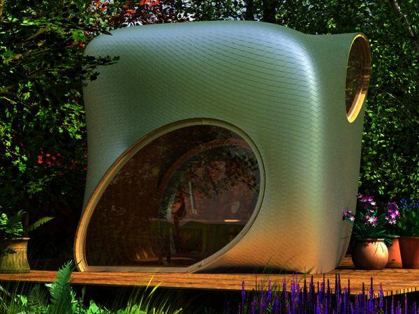 Garden Office Design by Thomas Paschke