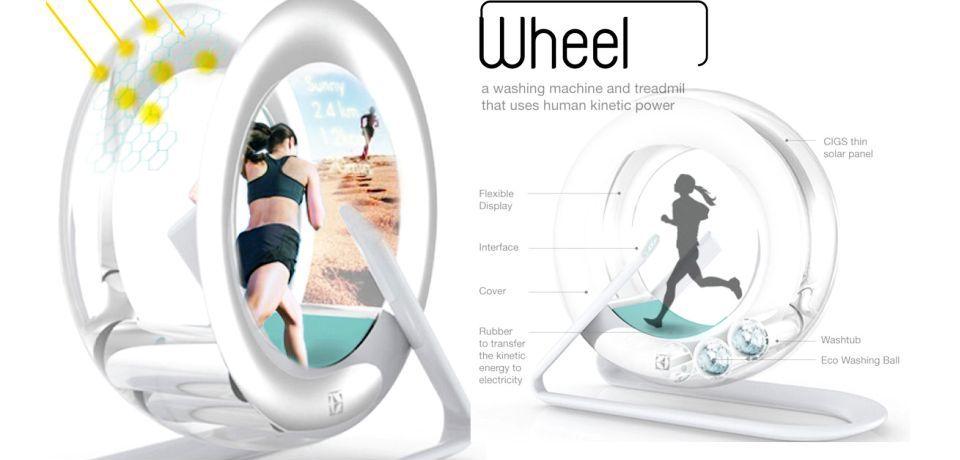 Hamster-styled Treadmill