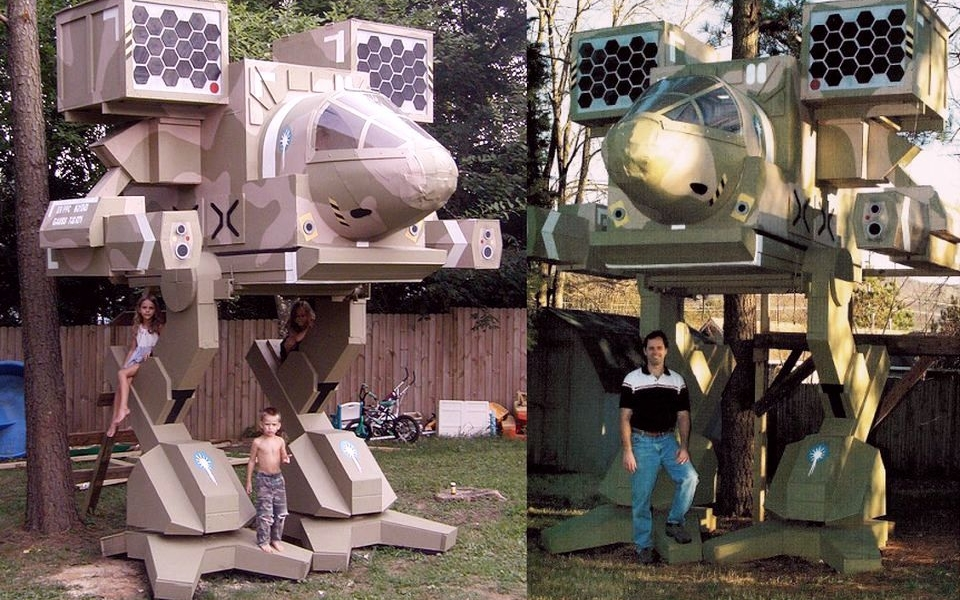 MadCat Treehouse by Jim Martin