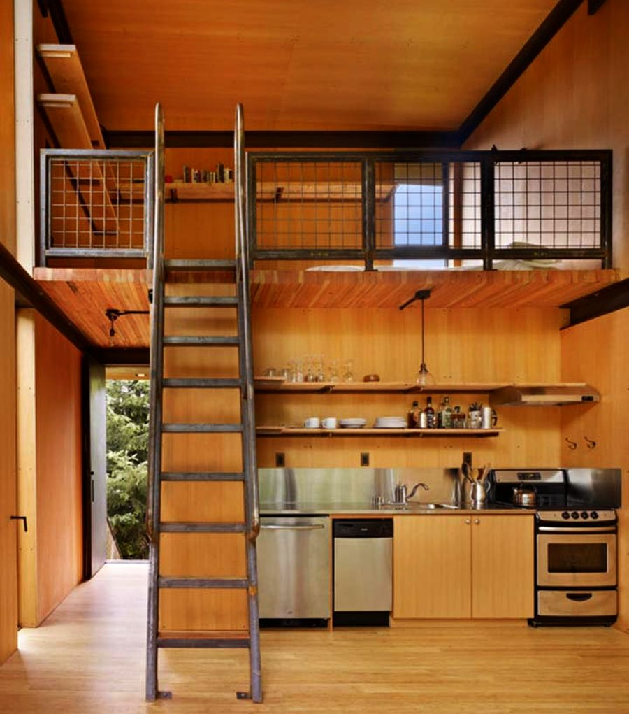 Sol Duc Cabin by Tom Kundig of Olson Kundig Architects
