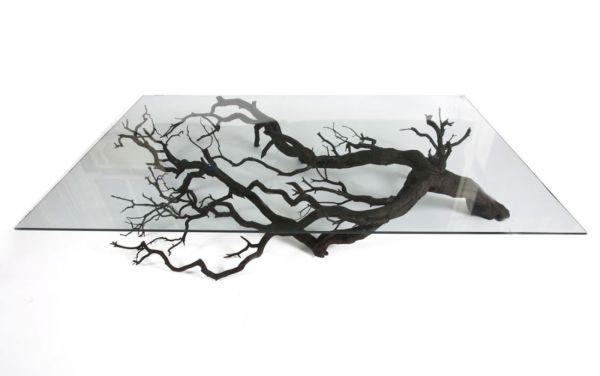 Tree coffee table by Sebastian Errazuriz