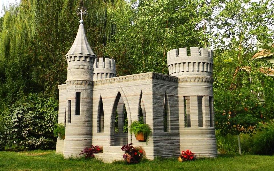 3D-Printed Castle by Andrey Rudenko