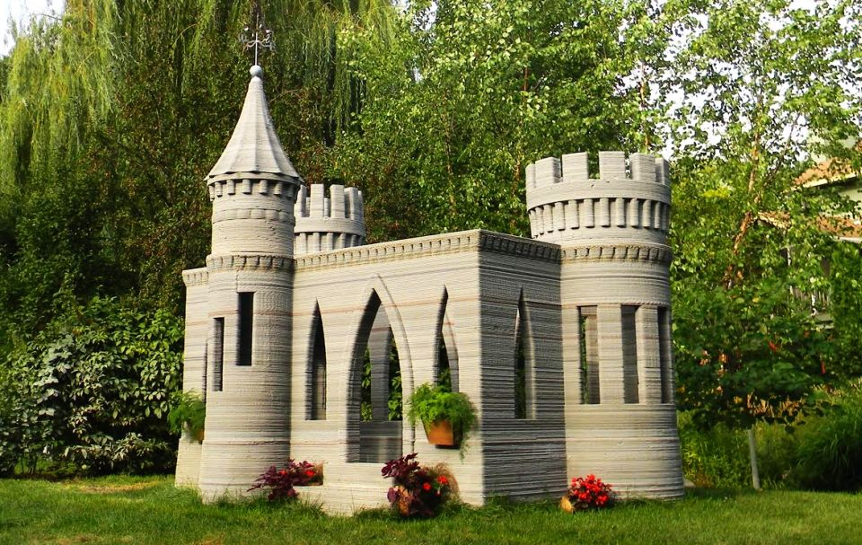 3D-Printed Castle by Andrey Rudenko