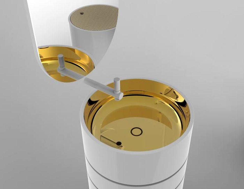 BIA 2014 Cylinder Vanity
