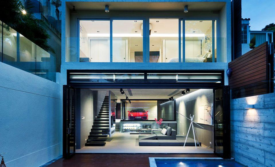 Ferrari Parked in Living Room by Millimeter Interior Design
