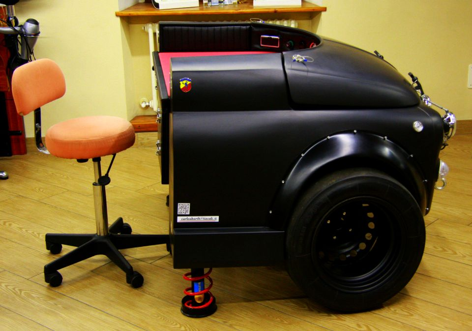 Fiat 500 Abarth Office Desk