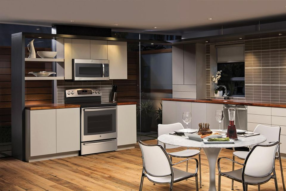 GE Smartphone-controlled Profile Series Gas and Electric Ranges