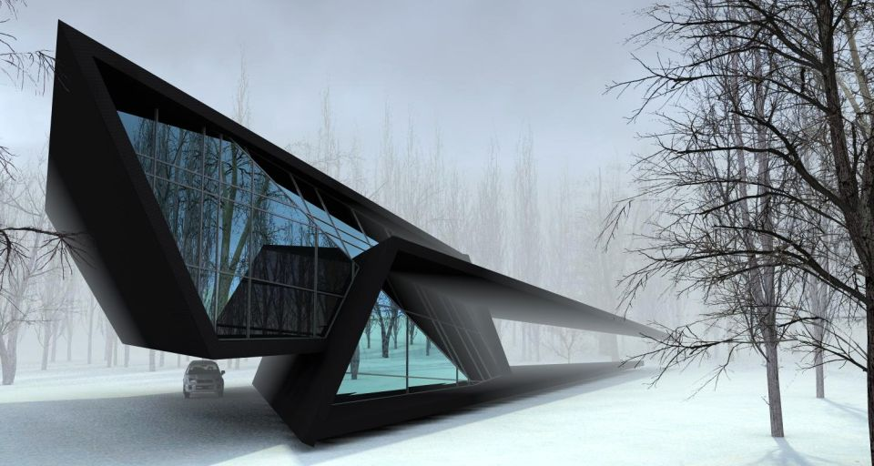 House in the Forest by Steep Studio