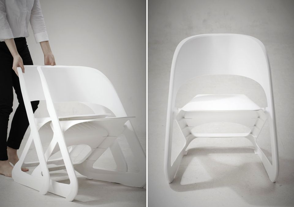 Sleeed Chairs by Centimeter Studio