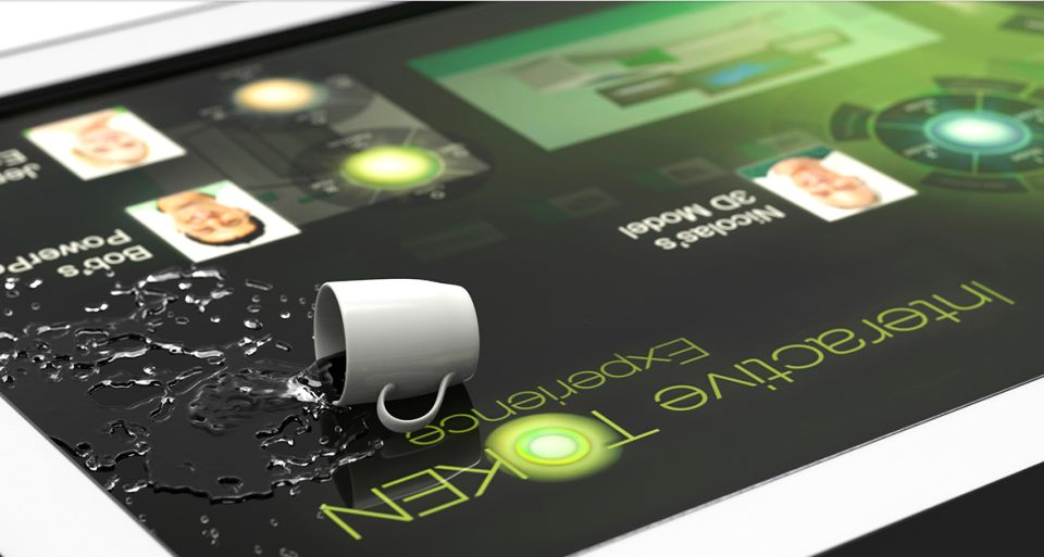 TablerTV Touch Screen Coffee Table