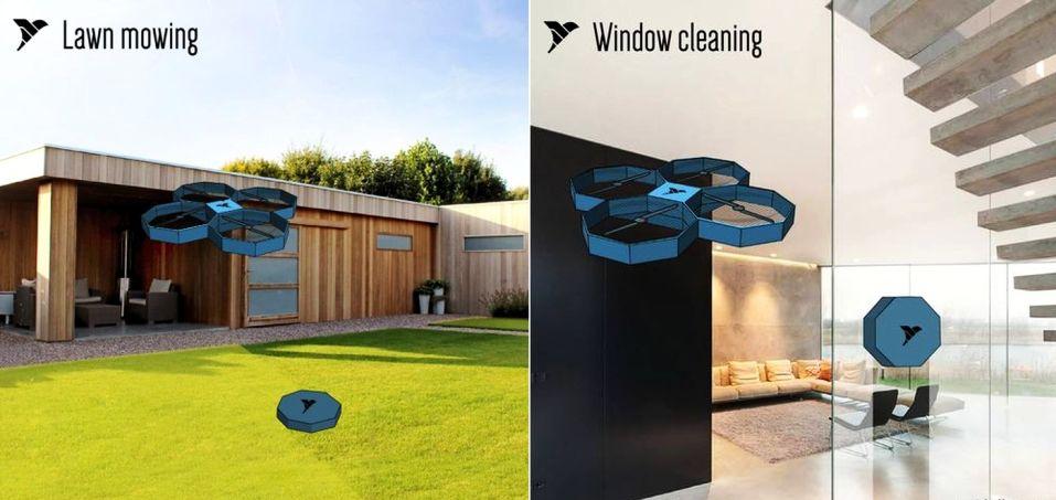Airbutlr Housekeeping Drone