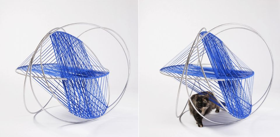 Cat Houses by Architects for Animals